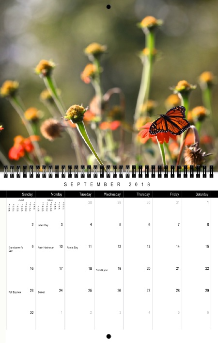 2018 Chiot's Run Calendar